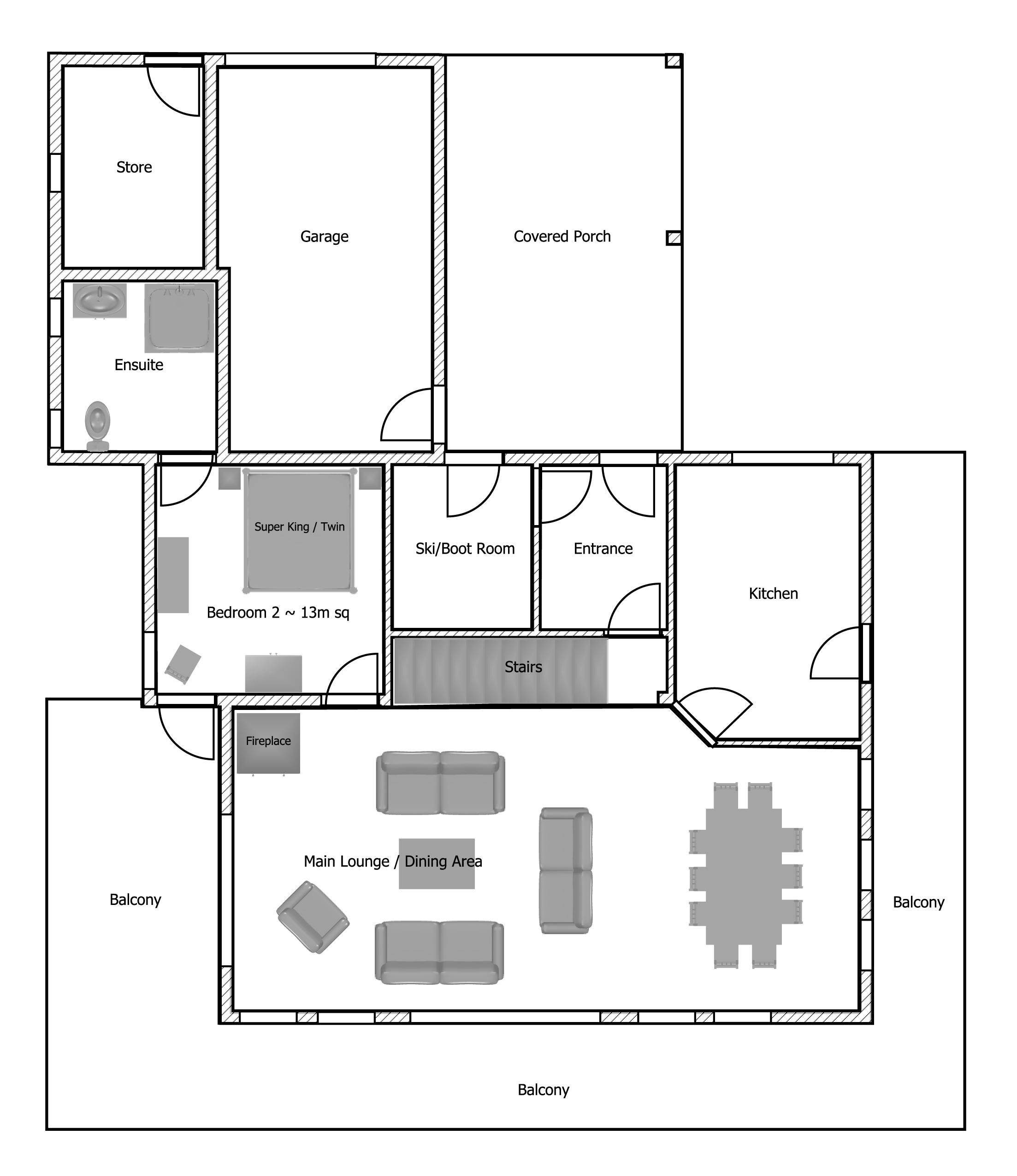 Chalet Flooring Home Design Inspiration