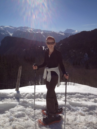 Snowshoeing in Samoens, Grand Massif, France