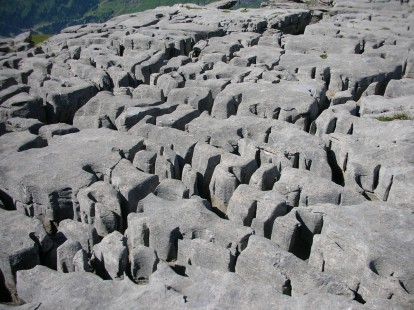 Limestone Plate at Flaine, Grand Massif, France