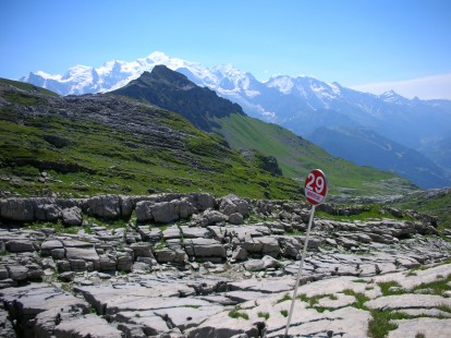 Hiking in the Grand Massif, France