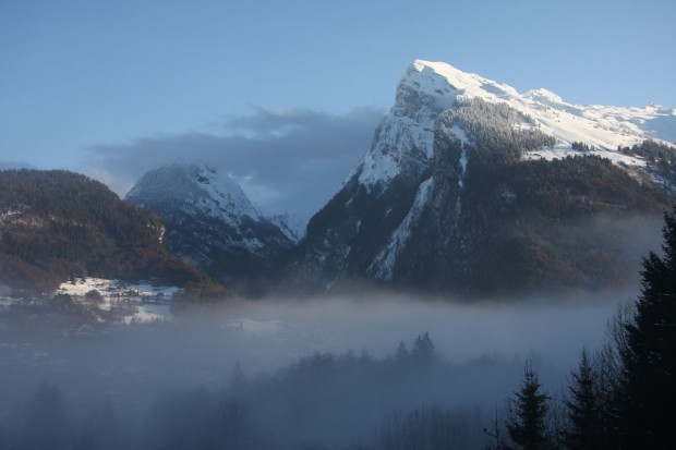 Samoens - first snow of 2011 season