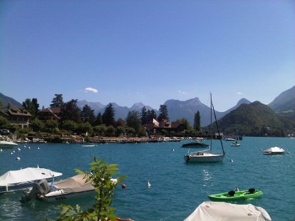 Talloires at Lake Annecy