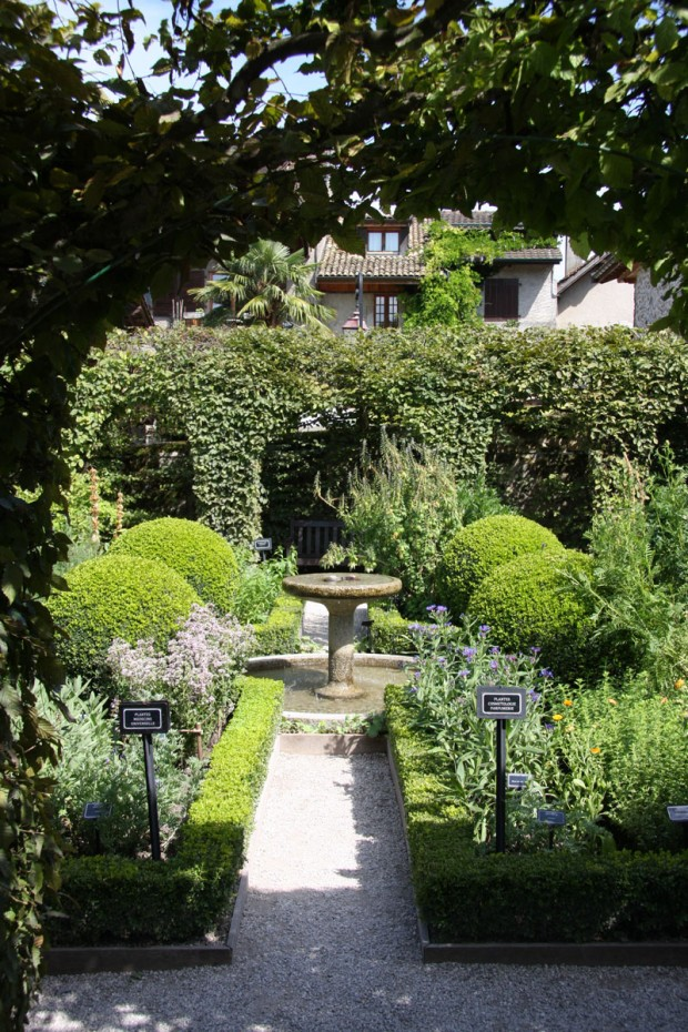 Yvoire Gardens, France